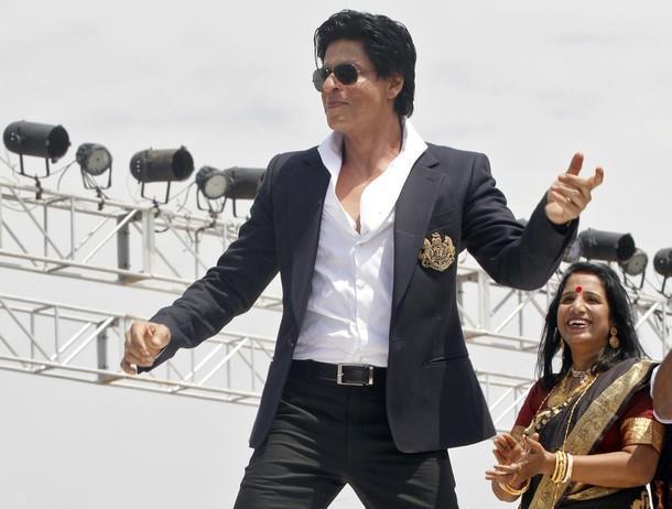 SRK Dances During The Inauguration of Prayag Film City at Chandrakona Village