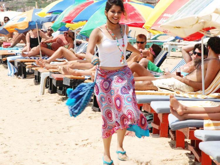 Madhurima Banerjee Sexy Photo On The Beach