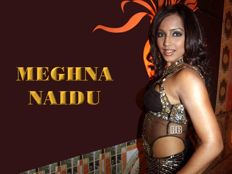 Glam Girl Meghna Naidu Wallpaper