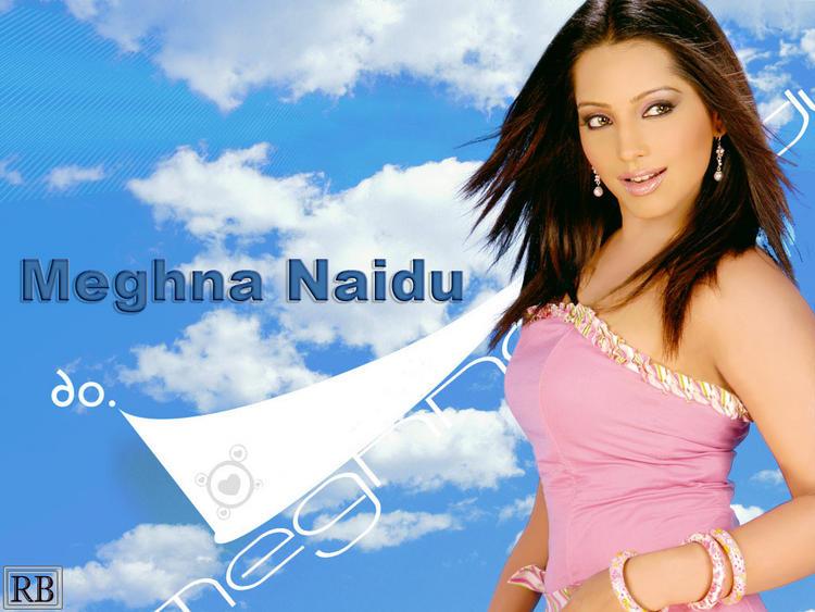 Meghna Naidu Pink Dress Cute Wallpaper
