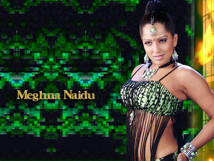 Meghna Naidu Sexy Dressing Wallpaper