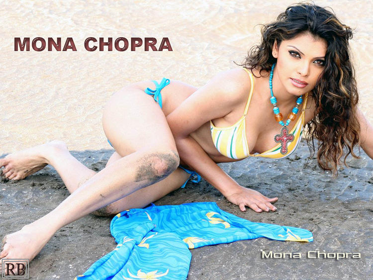 Mona Chopra Latest Hot Wallpaper
