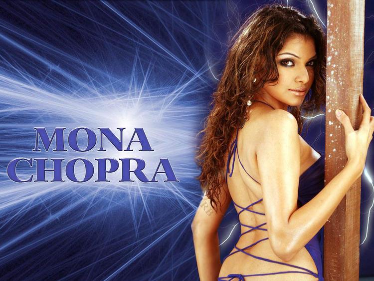 Mona Chopra Sexy Back Bare Still