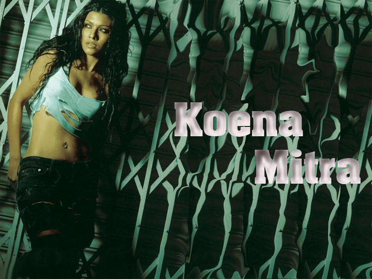 Koena Mitra Latest Glamourous Wallpaper