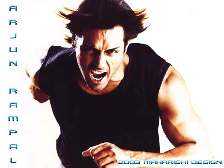 Arjun Rampal Angry Look Wallpaper