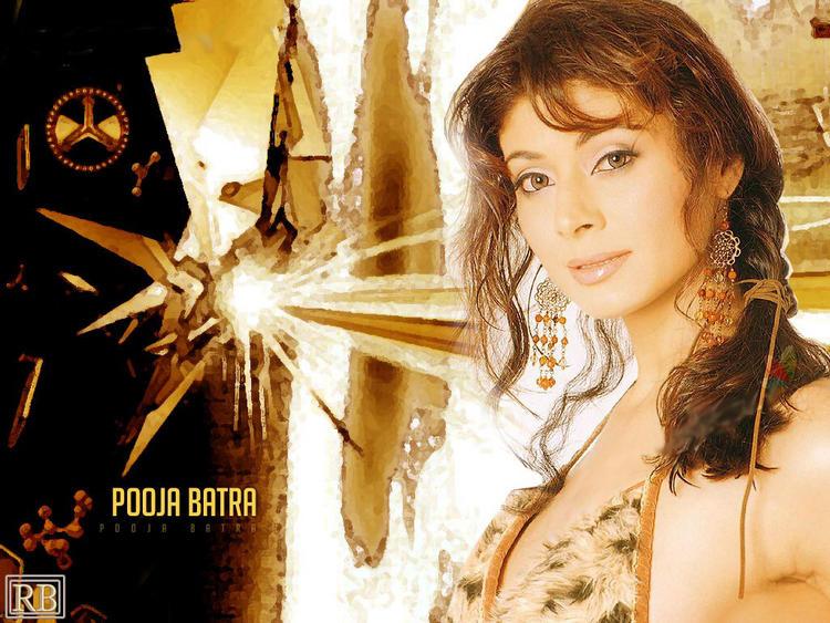 Pooja Batra Stunning Face Look Wallpaper