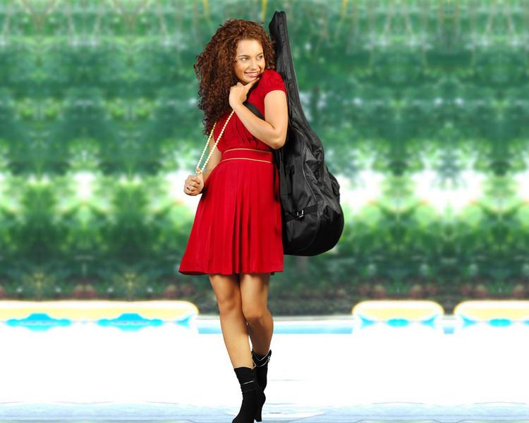 Kangana Ranaut Cute Wallpaper With Red Dress