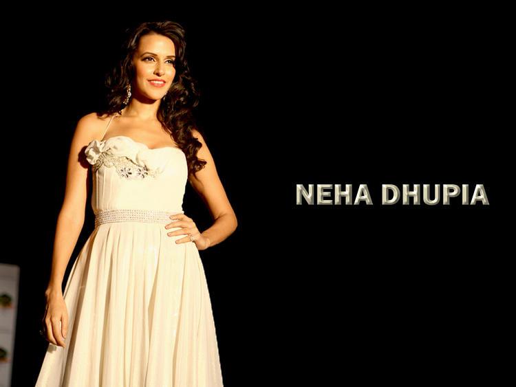 Neha Dhupia Gorgeous Look Wallpaper