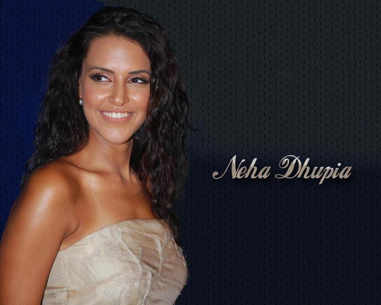 Neha Dhupia Nice Face Look Wallpaper
