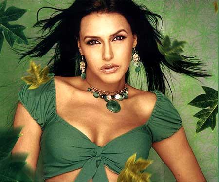Neha Dhupia Sexy And Hot Look Wallpaper