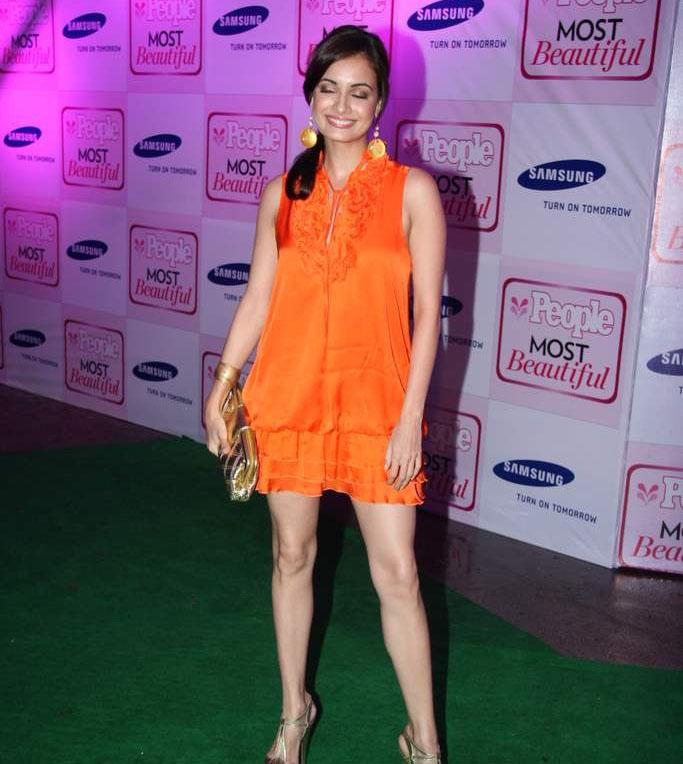 Diya Mirza at People Magazine Most Beautiful Event