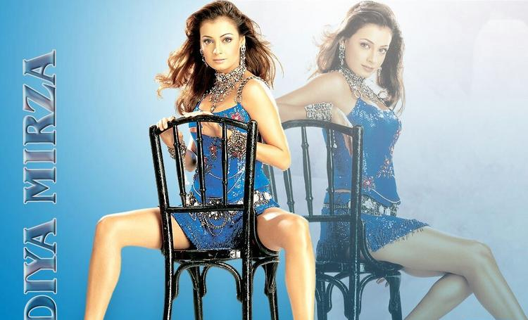 Best Actress Diya Mirza Wallpaper