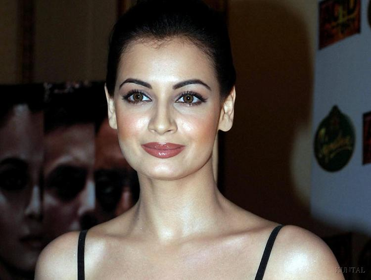 Diya Mirza Attractive Fairy Look Still