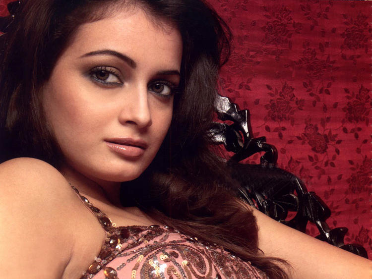 Diya Mirza Romancing Face Still
