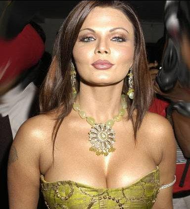Rakhi Sawant Open Boob Sexy Still