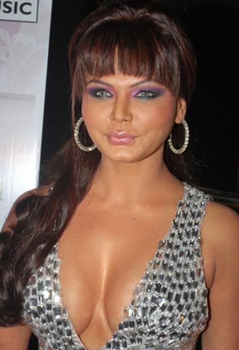 Rakhi Sawant Sexy Cleavages Bold Photo