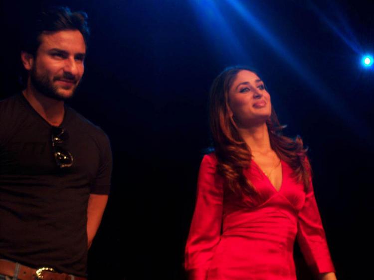 Kareena Kapoor Cute Pic with Saif Ali Khan