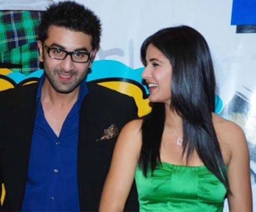 Ranbir Kapoor and Katrina Smiling Pic