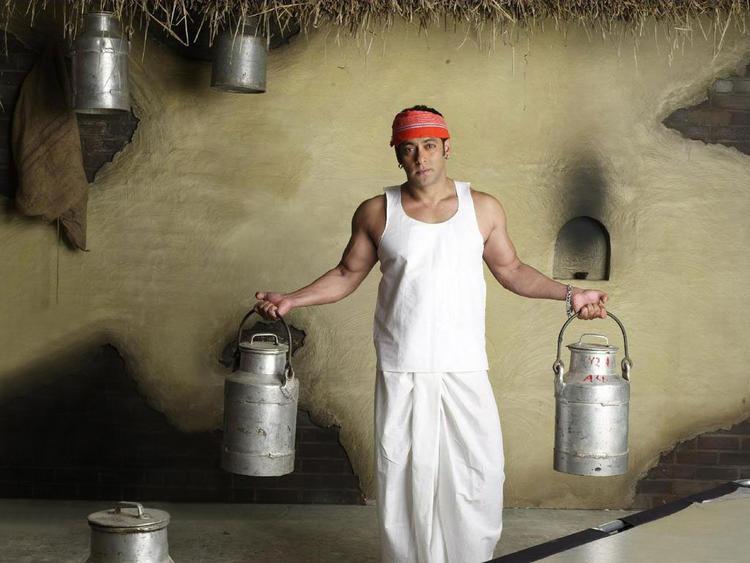 Salman Khan Milk Man Pose Photo Shoot