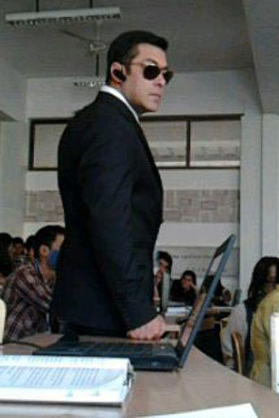 Salman Latest Still In Bodyguard