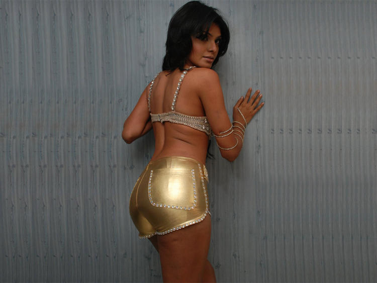 Mona Chopra Sexy Back Exposing Photo Shoot