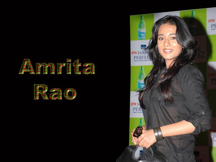 Amrita Rao Gorgeous Face Look Wallpaper