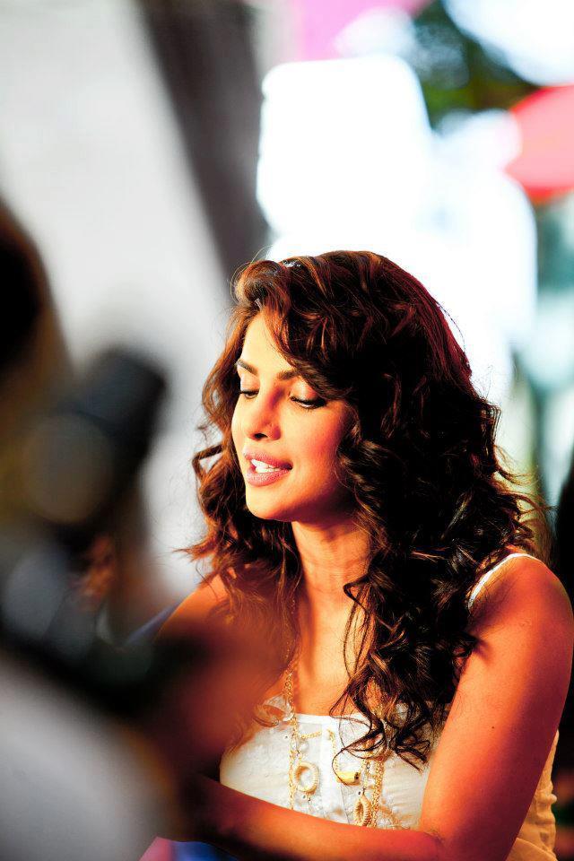 Priyanka Chopra Looks Shines at Nikon TVC Shoot Sets