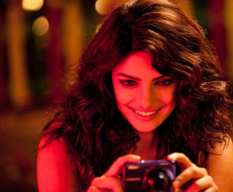 Priyanka Chopra On The Sets Of Nikon TVC Shoot