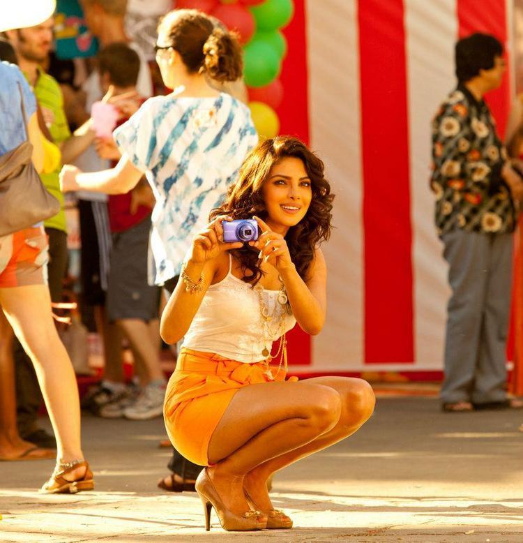 Priyanka Chopra Shines On The Sets Of Nikon TVC Shoot