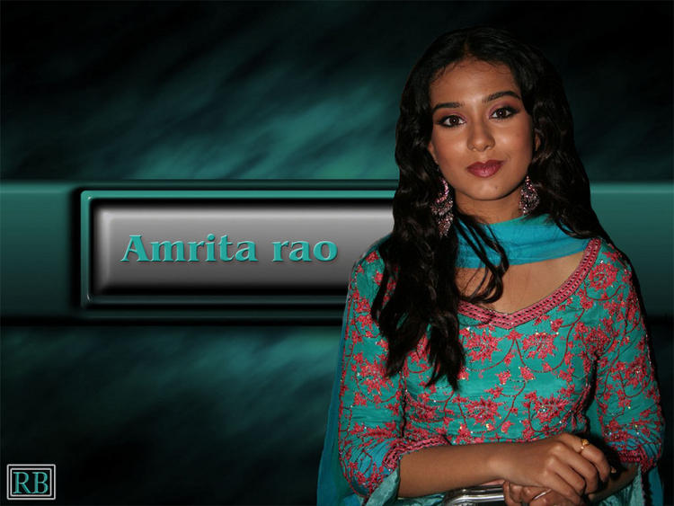Glamour Amrita Rao Curly Hair Cut Wallpaper
