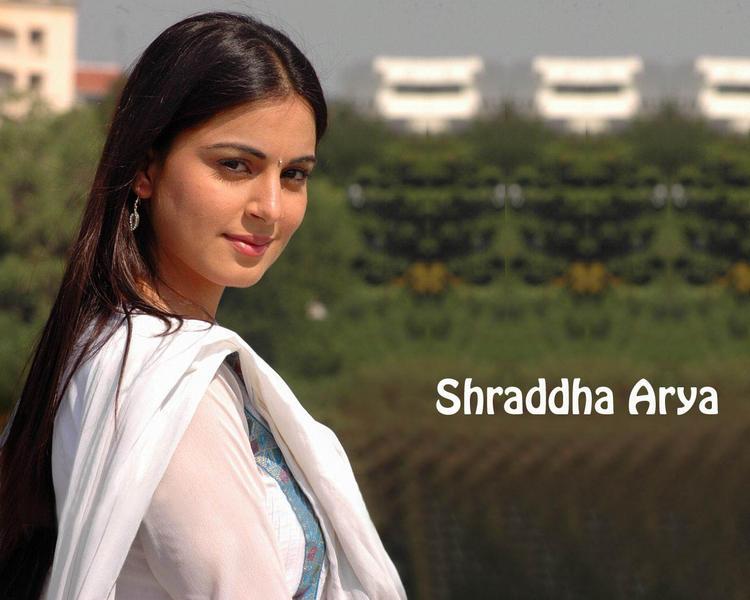 Shraddha Arya Stunning Face Look Photo Shoot