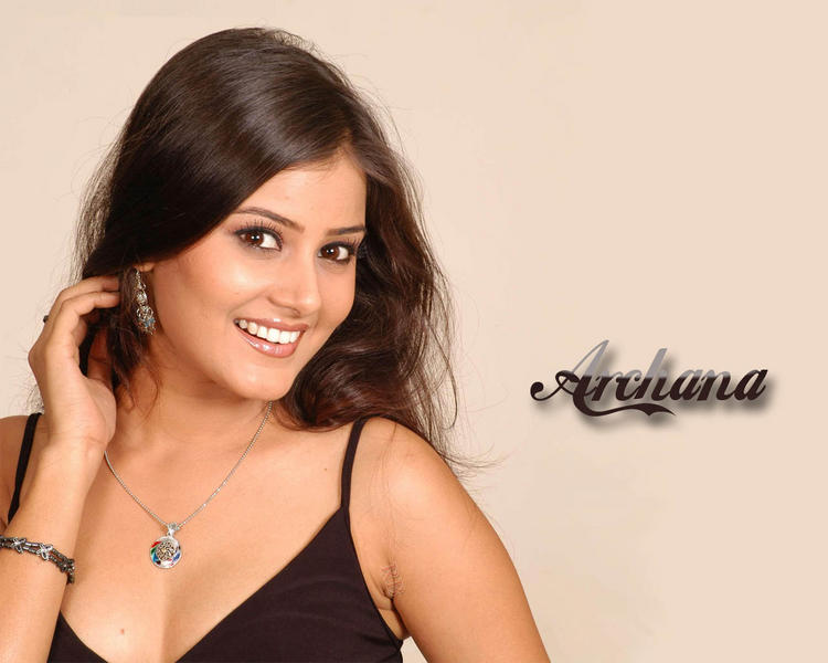 Archana Cute Smiling Wallpaper