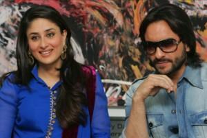 Upcoming Couple Saif Ali Khan and Bebo Still