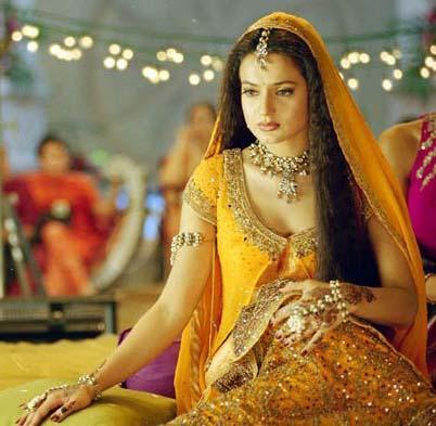 Amisha Patel Traditional Look Pics
