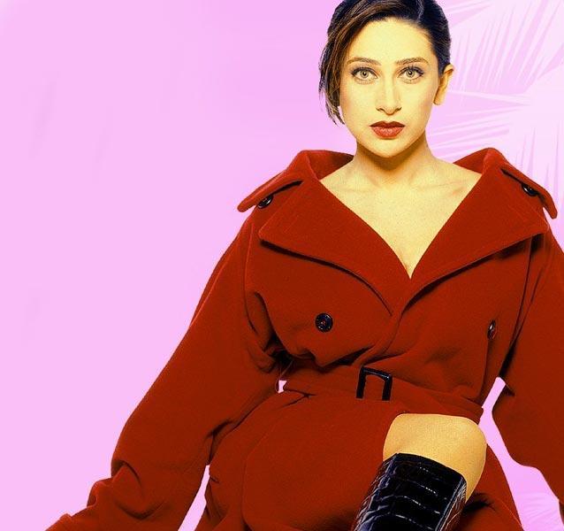Karishma Kapoor Hot Look Photo Shoot In Red Blazer