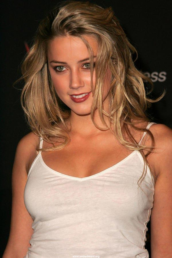 Amber Heard Hot Eye Look Pics