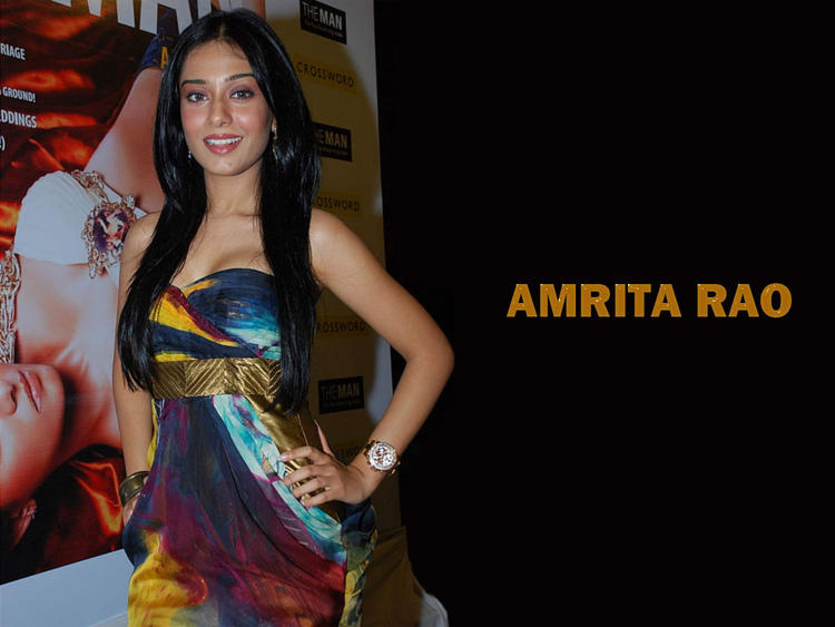 Amrita Rao Glamour Face Look Wallpaper