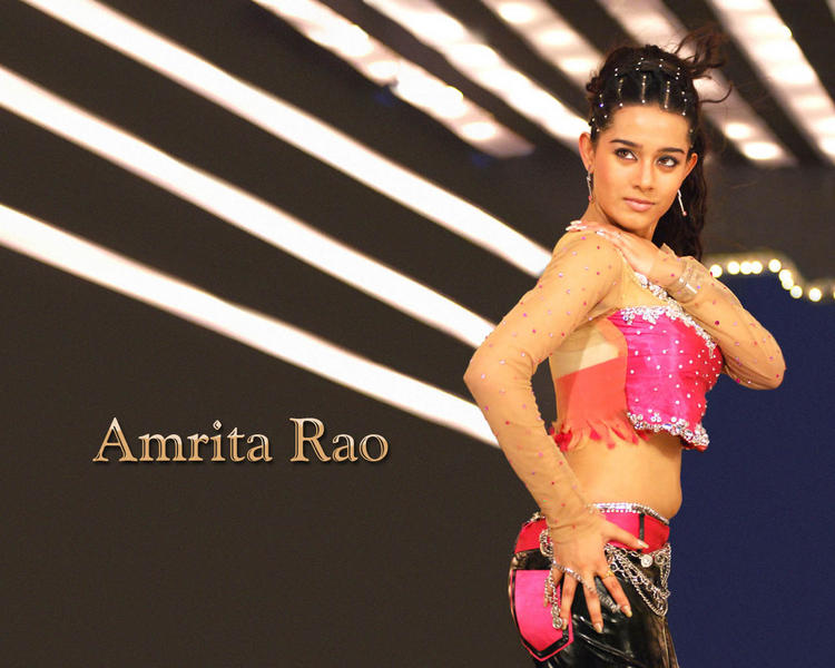 Amrita Rao Latest Hot Look Wallpaper