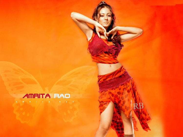 Amrita Rao Sexy Dress Wallpaper