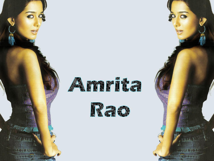 Amrita Rao Spicy Hot Wallpaper