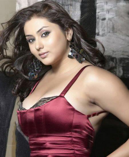 Namitha Shinny Hot Face Look Still