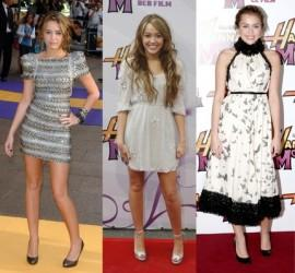 Miley Cyrus Different Look Pics