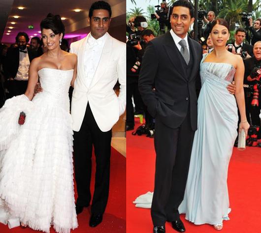 Abhishek and Aishwarya Latest Pic at Cannes