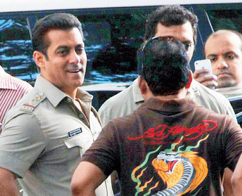 Salman Plays Chulbul Robinhood Pandey In The Sequel Of One Of His Hit Film