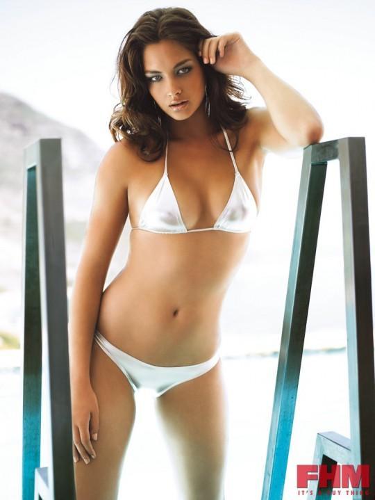 Candice Boucher White Bikini Sexy Pic