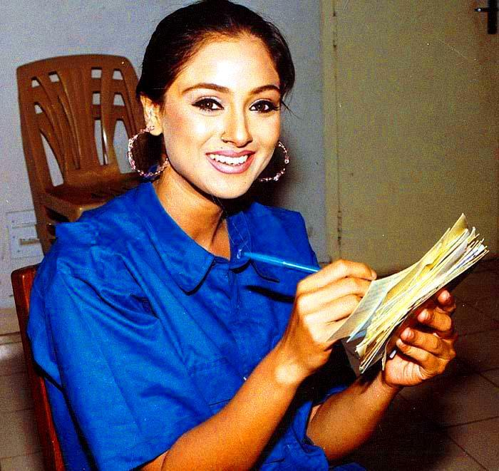Simran Dazzling Face Look With Smiling Pics