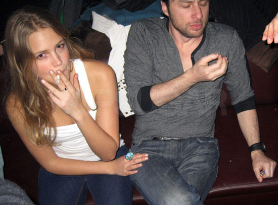 Miley Cyrus Smoking Pic
