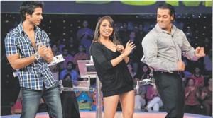 Shahid,Priyanka Chopra And Salman Khan In Dus Ka Dum