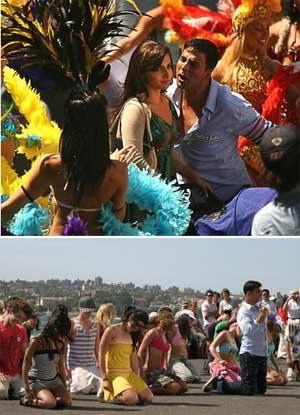 Vidya Balan With Akshay Kumar In Heyy Babyy