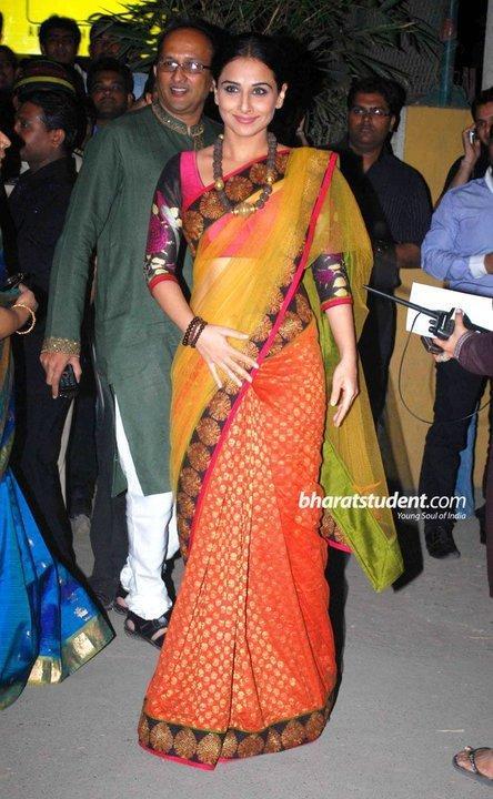 Vidya Balan In Saree Hot Gorgeous Look